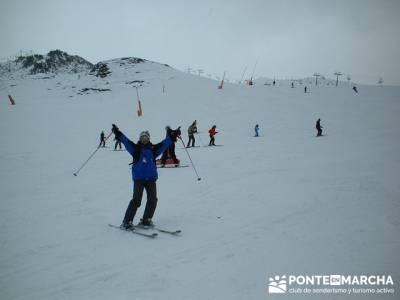 squí Baqueira - Aprende a esquiar; asociaciones de senderismo; viajes enero